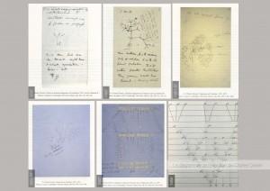 Evolution des diagrammes de l'évolution de Charles Darwin entre 1837 et 1859. Les Coraux de Darwin, Horst Bredekamp